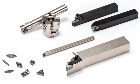 Kyocera's series of products with DLC coating are available for turning, milling and cut-off operations.
